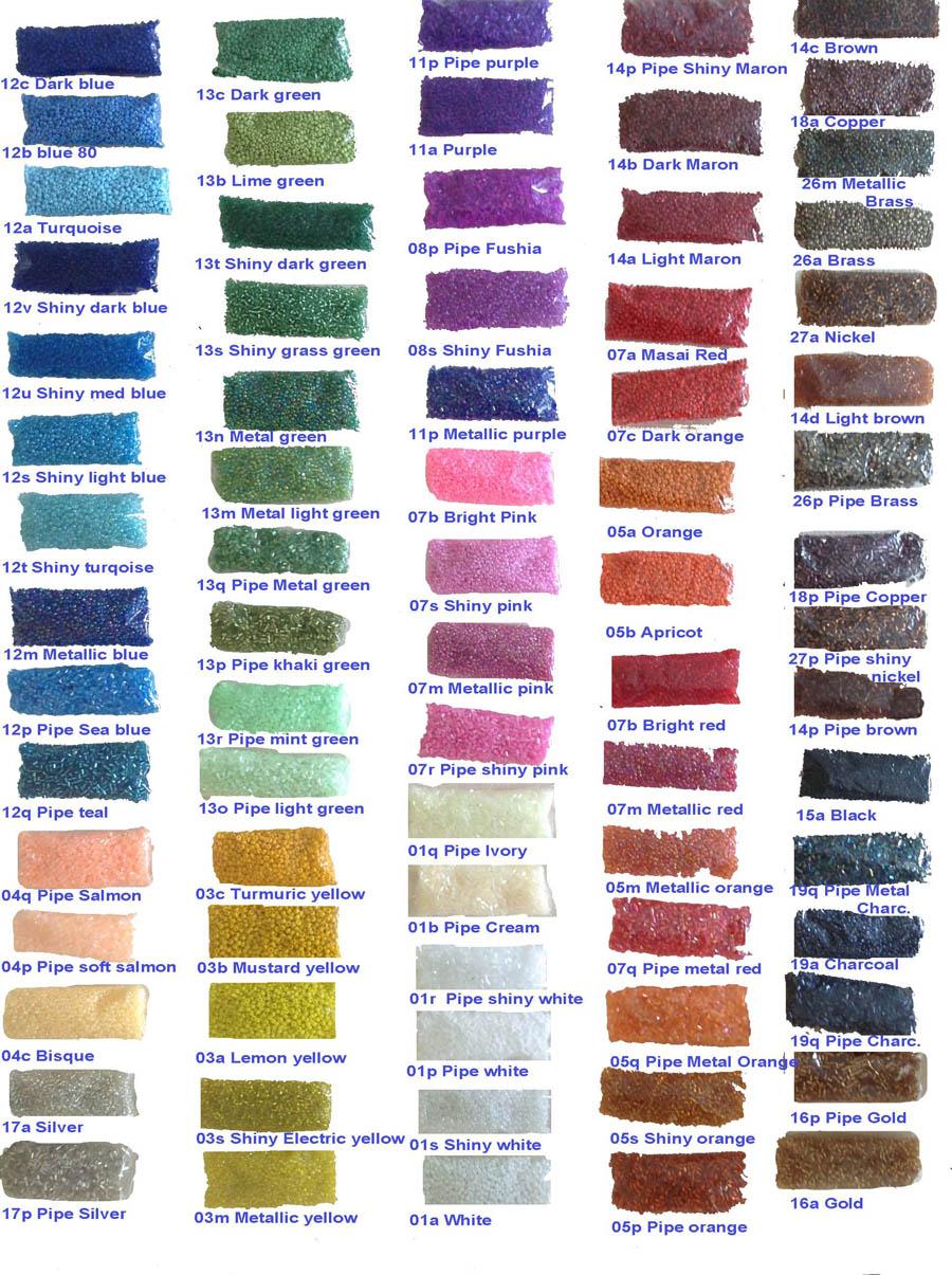 Wewe import handmade in kenya color chart geenschuldenfo Image collections